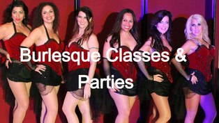Burlesque Classes & Parties