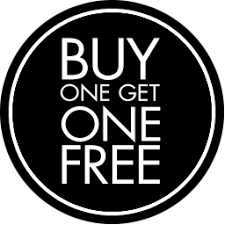 BUY ONE GET ONE FREE PASS