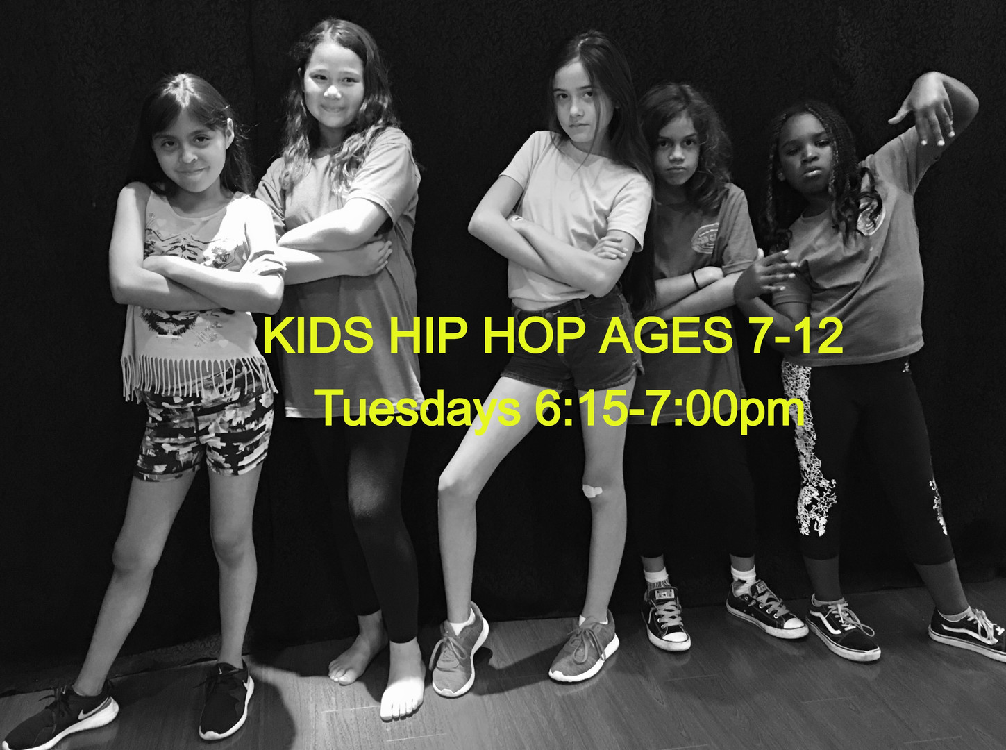 Kids Hip Hop Ages 7-12