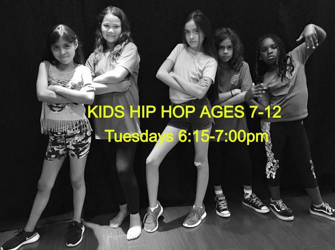 Kids Hip Hop Ages 7-12