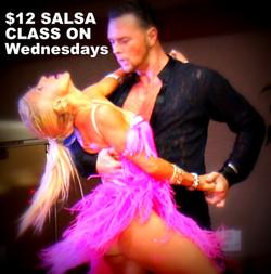 Salsa dance studio in orange county