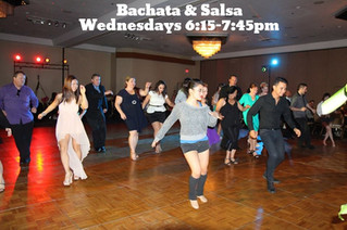 SALSA AND BACHATA Dance Classes for All levels including total beginners!