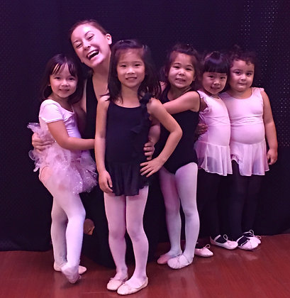 Ages 3-5 -  Ballet Monthly Pass for Tuesdays