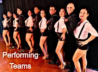 Latin Fusion Team Rehearsals Wed 8-9pm