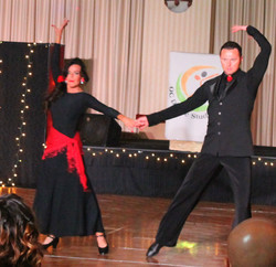 Tango lessons Kim and Rosta