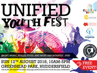 UNIFIED YOUTH FEST - GREENHEAD PARK 12TH AUGUST