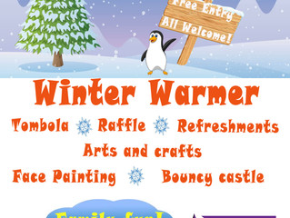 FAMILY FUN DAY - WINTER WARMER @ NORTH HUDDERSFIELD TRUST SCHOOL