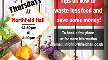 FREE FOOD WORKSHOPS STARTS THURSDAY!! GET INVOLVED!! Tips on how to waste lees and save more!