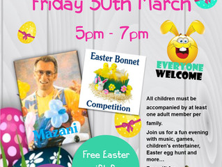 CHILDREN'S EASTER PARTY - DISCO / ENTERTAINER / GAMES / HUDDERSFIELD - TOP CLUB SHEEPRIDGE