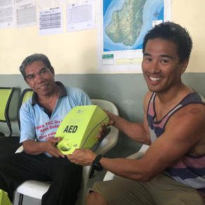 Defib to save lives on remote island