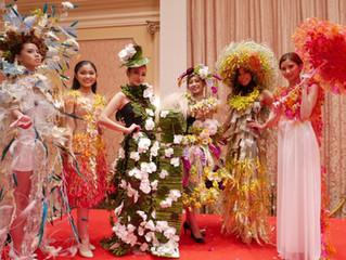 日本初開催!世界的フラワーショーにZEROモデル出演
