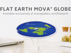 MOVA Globe - Flat Earth (April Fools prank)