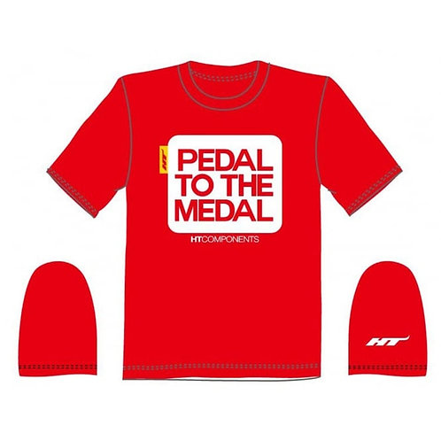 HT Components Pedal To The Medal T-Shirt - medium