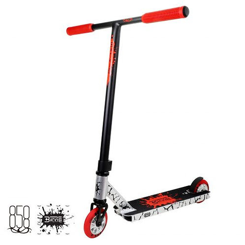 Ride 858 Backie Complete Stunt Scooter – Red/Silver