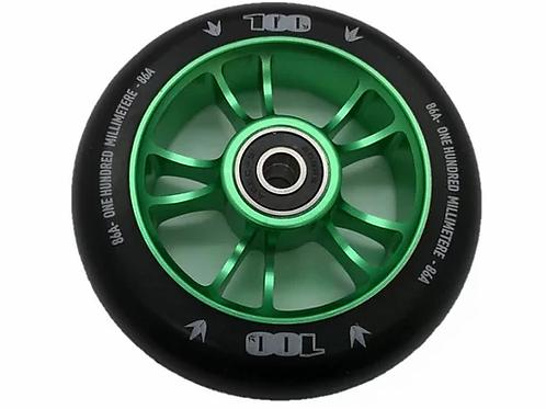 Blunt Envy Colt Wheel 100mm - green/Black