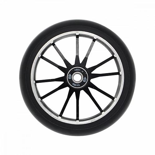 District Wide Twin Core Wheel 110 mm - Black