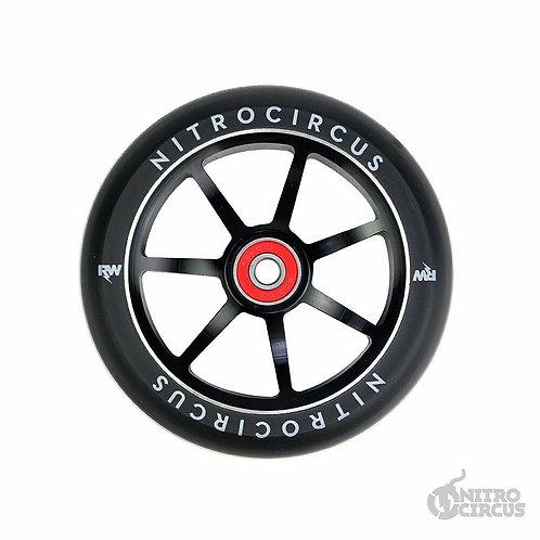 Nitro Circus Rw Signature 120mmx28mm Lp Wide Alloy Core Wheels (pair)