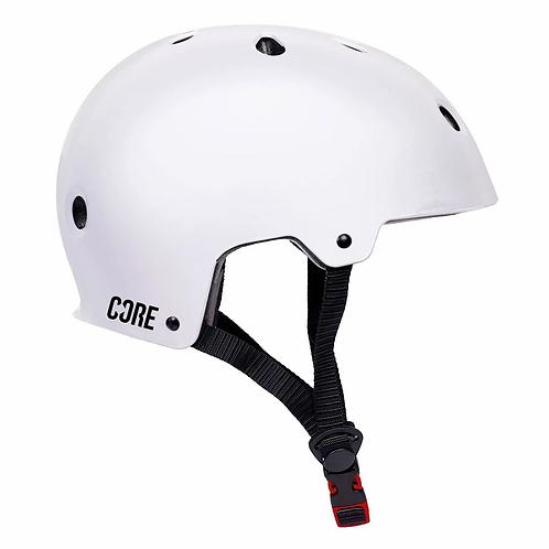 CORE BASIC SKATE HELMET - WHITE XS/S = 50-56cm