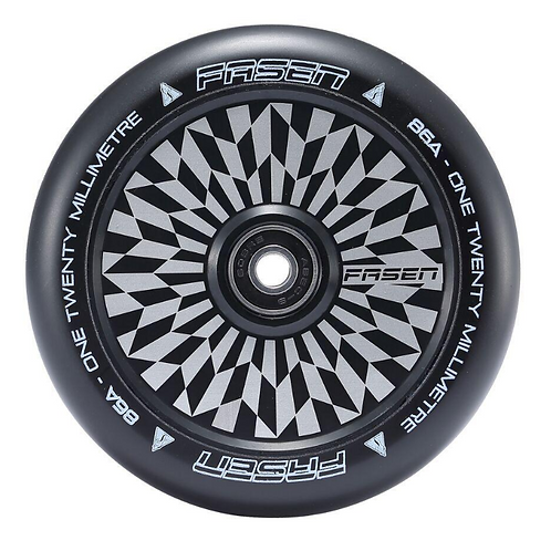 Fasen Hypno Offset 120mm Scooter Wheel - Black