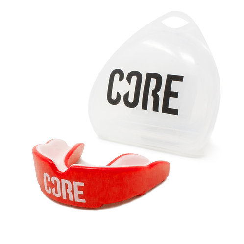 CORE Protection Mouth Guard/Gum Shield / Red