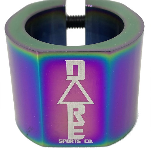Dare Warlord Double Clamp Neo Chrome Std Size