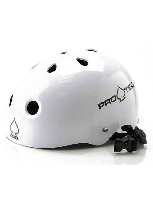 Pro-Tec Classic Helmet - Gloss White Small 54-56cm