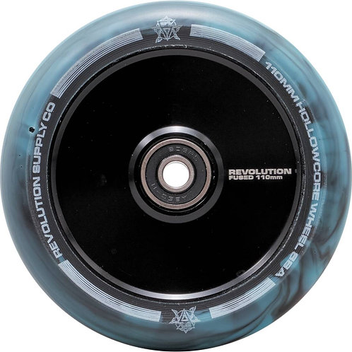 Revolution Supply Co Fused Hollowcore wheels 110mm Black and Blue