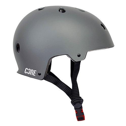 CORE BASIC SKATE HELMET - GREY  XS/S 48-54CM
