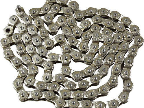 Cult BMX C121 Half link Chain Chrome