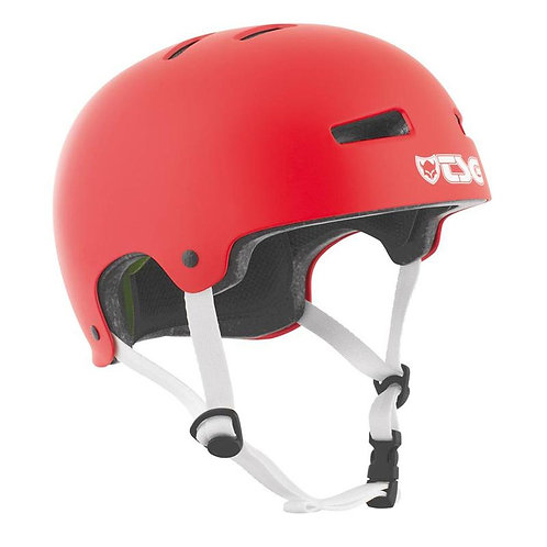TSG PROTECTION EVOLUTION SKATE/BMX HELMET, FIRE RED L/XL 57-59CM