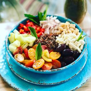 Greek Goddess Vegetarian Bowl
