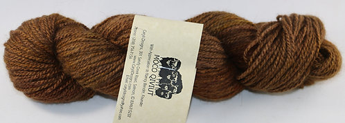 MOCO 100% Qiviut, Fingering weight, 2ply, 50gm/200m, Cognac Diamond