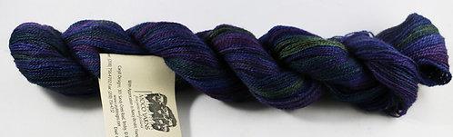 70/20/10 Qiviut/Merino/Silk, 2/18 Lace, 300yds, 1oz skein, Lupine