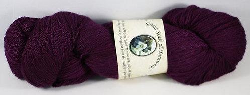 Arctic Qiviut Sock Yarn - Polar Purple