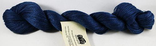 70/20/10 Qiviut/Merino/Silk, 2/18 Lace, 300yds, 1oz skein, Sapphire