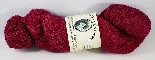 Arctic Qiviut Sock Yarn - Alaska Raspberry
