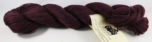 100% Qiviut, 2/14 Fingering weight, 220 yards, 1 oz, Dark Plum