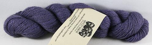 45/45/10 Qiviut/Merino/Silk 2/14 Fingering, 220yds, 1oz, Lavender