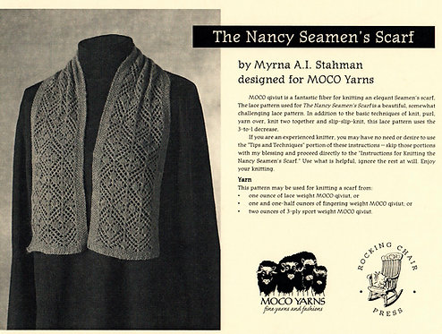 The Nancy Seamen's Scarf by Myrna A. I. Stahman
