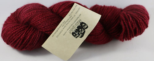 MOCO 100% Qiviut, Fingering weight, 2ply, 50gm/200m, Ruby