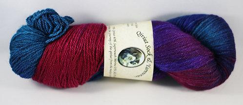 Arctic Qiviut Sock Yarn - Wildflower