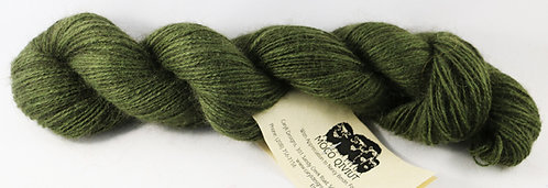 100% Qiviut, 2/14 Fingering weight, 220 yards, 1 oz, Forest