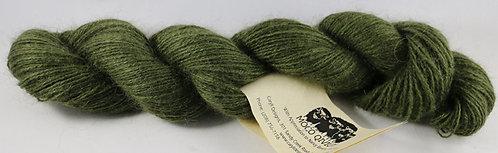 70/20/10 Qiviut/Merino/Silk, 2/18 Lace, 300yds, 1oz skein, Forest