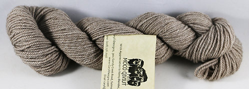 45/45/10 Qiviut/Merino/Silk, 3/14 Sport weight, 146yds, 1oz, Natural