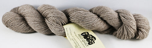 45/45/10 Qiviut/Merino/Silk, 2/28 Cobweb Lace, 425yds, 1oz, Natural