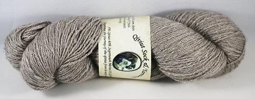 Arctic Qiviut Sock Yarn - Natural