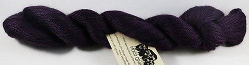 70/20/10 Qiviut/Merino/Silk, 2/18 Lace, 300yds, 1oz skein,Purple