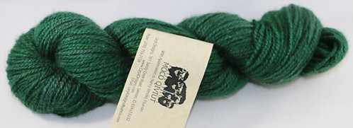 MOCO 100% Qiviut, Fingering weight, 2ply, 50gm/200m, Emerald