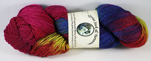 Arctic Qiviut Sock Yarn - Summer Flowers