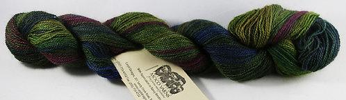 70/20/10 Qiviut/Merino/Silk, 2/18 Lace, 300yds, 1oz skein, Mountain Tango